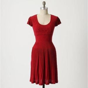 Sparrow Anthropologie Amarena Sweater Knit Dress